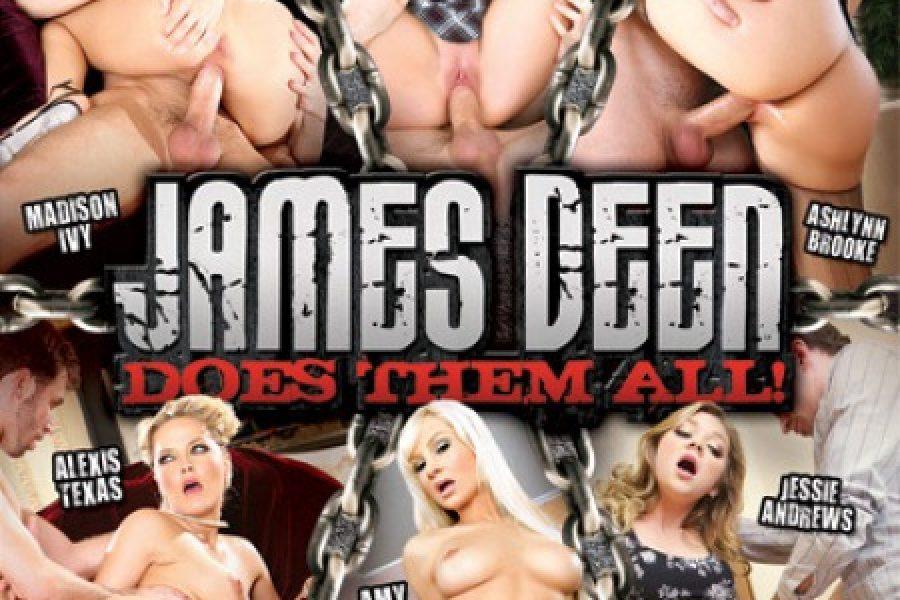 """James Deen Does Them All"" – Digital Sin"