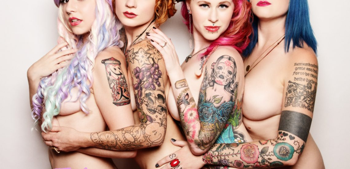 The Taboo Girls Get Naked!