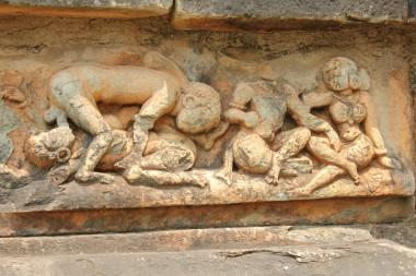 114 Belligavi Tripurantakesvara Temple Erotic Sixty Nine